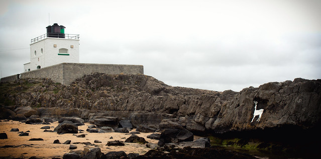 Bamburgh Lighthouse & Stag Rock