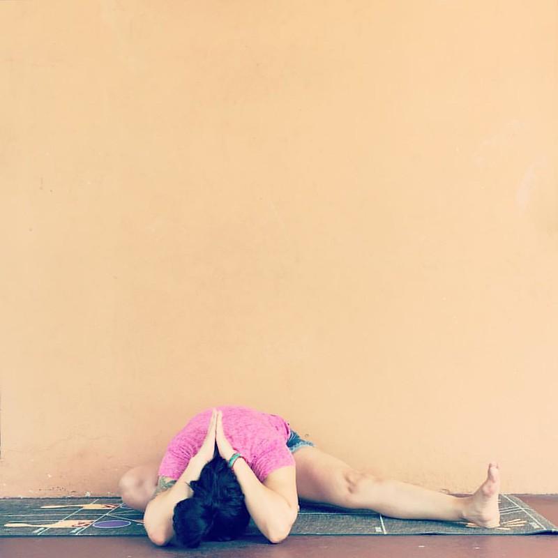 —Mahatma Gandhi   #Yoga4Growth Day 3  Half Butterfly   _______________________________________________________________________________________________________________________________________    #HalfButterfly #ArdhaTitaliAsana #Yoga #igyoga #instayogi   #