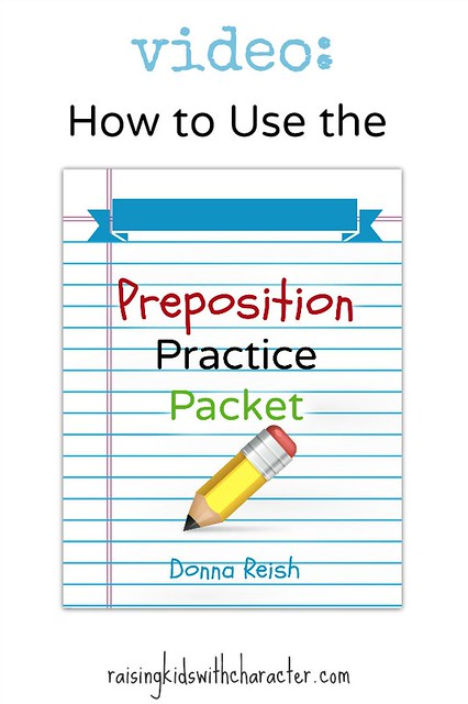 Video: How to Use the Preposition Practice Packet