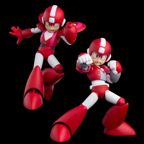 """限值練 「4Inch-Nel可動系列」《洛克人六》噴射洛克人&威力洛克人 """"兩體共同""""販售!ジェットロックマン&パワーロックマン"""