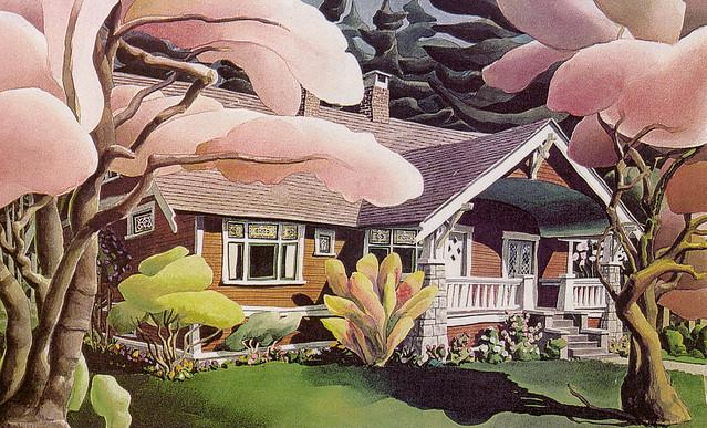 Garden and MNH exterior
