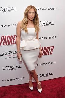 Jennifer Lopez White Pumps Celebrity Style Women's Fashion