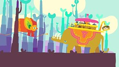 Hohokum on PS3, PS4 e PS Vita