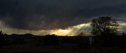 virga sunset.
