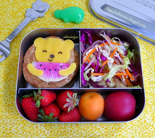 I Love Watermelon (Radish)! Bento by sherimiya ♥