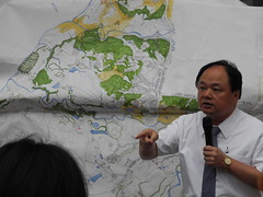 新北市議員呂子昌說,營建署應該管好都市計畫,不是當開發商。