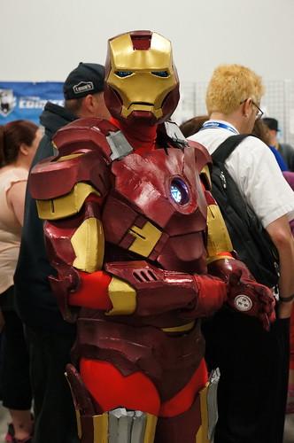Iron Man prepares