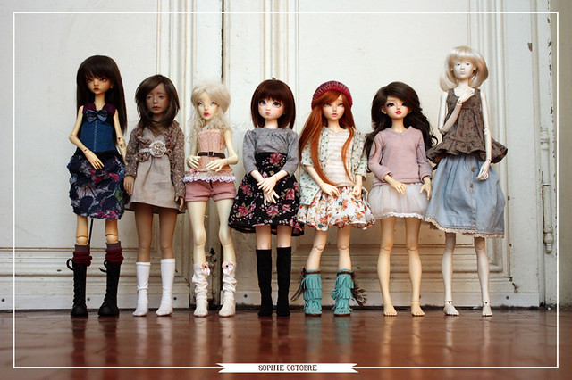 Doll comparison photos - a gallery on Flickr