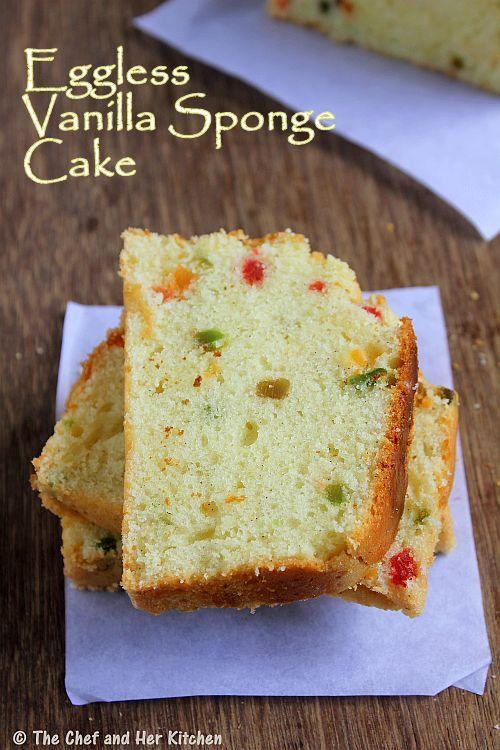 Quick eggless cake recipes