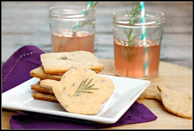 Rosemary Lavender Shortbread