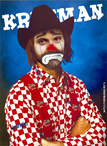 KRUGMAN THE CLOWN by WilliamBanzai7/Colonel Flick