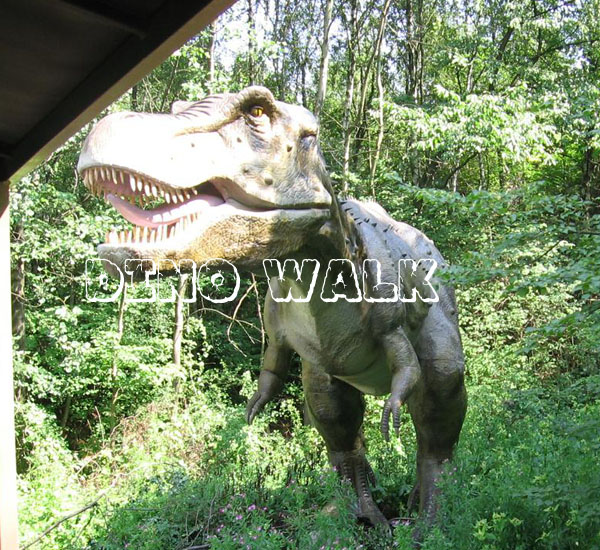 Jurassic Dinosaur Equipment as animatronic exhibits