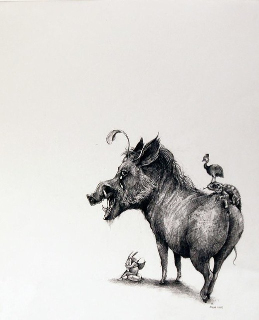 Adonna Khare, Crying Warthog, 2011