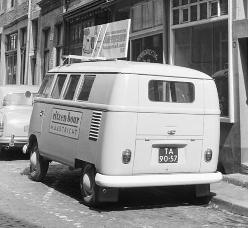 TA-90-57 Volkswagen Transporter kombi 1961