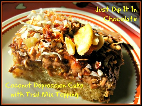 Depression Coconut Cake from Just Dip It In Chocolate