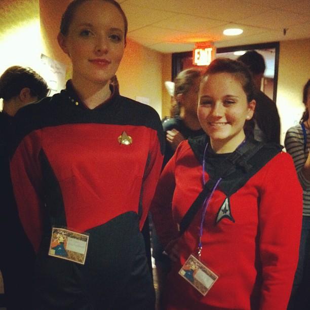 Star Trek! #portcon #startrek #geeks