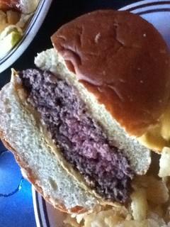 Eagle Crest burger