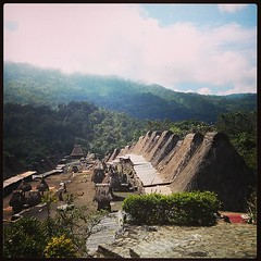 Traditional village #bajawa #sulawesi