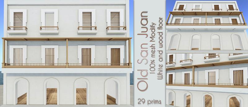 Old San Juan White