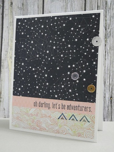 Oh, Darling, let's be adventurers!