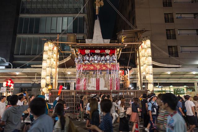 祇園祭 宵々々山 長刀鉾