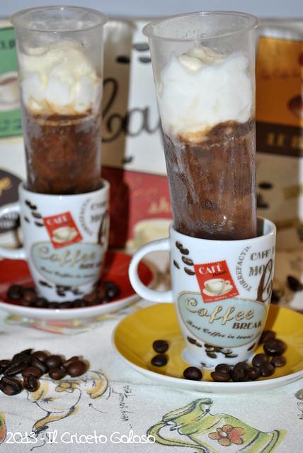 Granita di caffè con panna