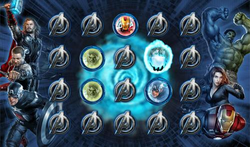 free The Avengers bonus game