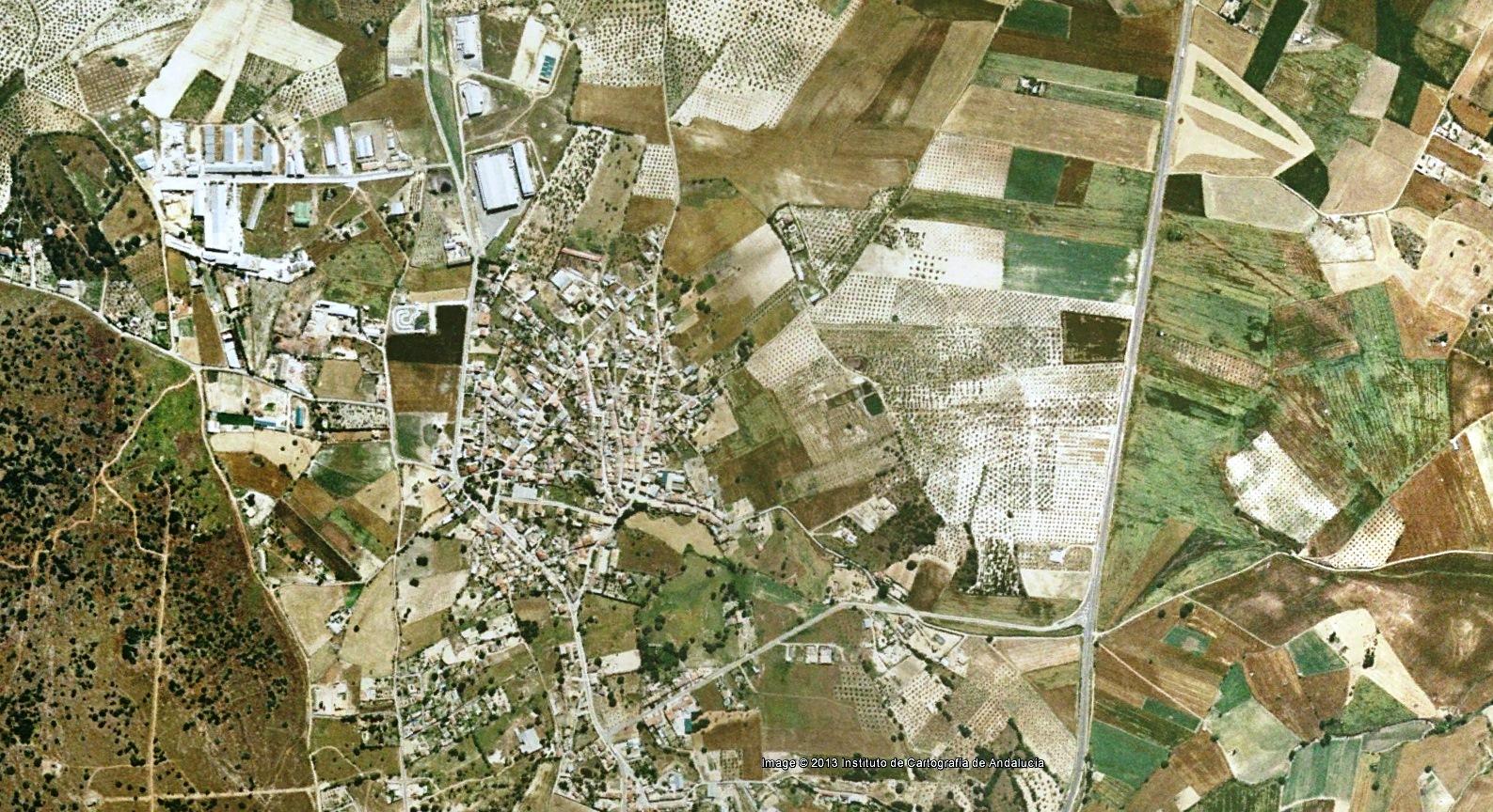 antes, urbanismo, foto aérea, desastre, urbanístico, planeamiento, urbano, construcción, Santa Ana, Jaén