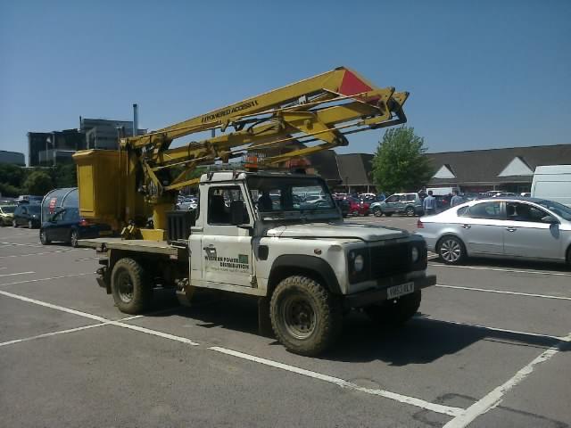 Western Power Distribution Land Rover Defender 130