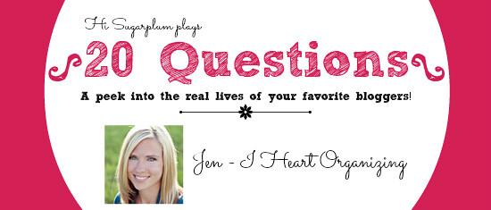 20 questions Jen