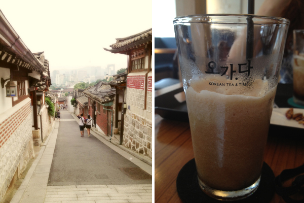Amy Colleen: Eating Vegan at Bukchon Hanok Village (북촌한옥마을), Seoul, South Korea