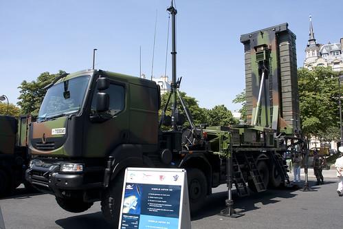 Véhicule lanceur de missile Aster 30