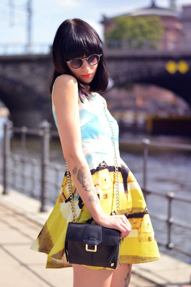 Chicwish dress Berlin Mitte Outfit 2