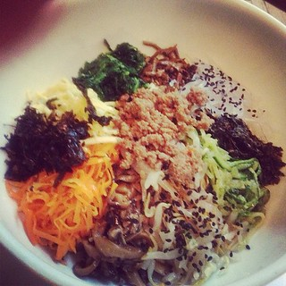 Most expensive bibim bap ever! But delish! #nyc #koreatown #food