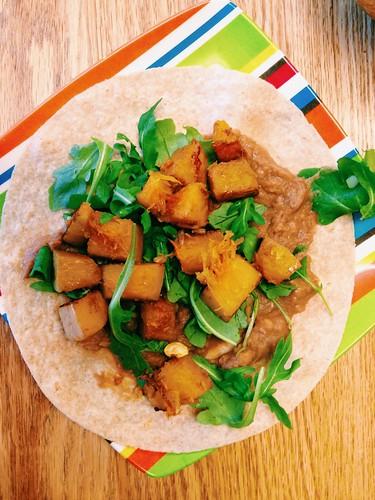 Butternut & Bean Tacos