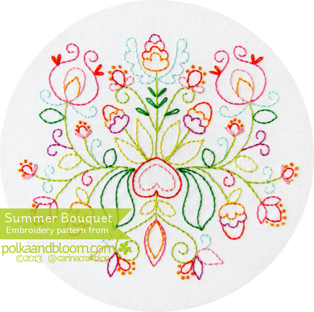 Summer Bouquet pattern