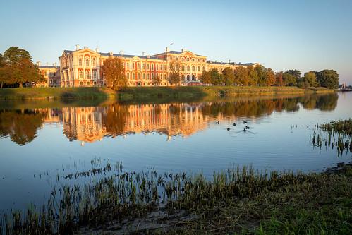 sunrise latvia clear jelgava jelgavacastle jelgavaspils jelgavaspilsēta