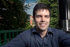 Guillaume Girard, diplômé du Centre Énergie Matériaux Télécommunications de l'INRS