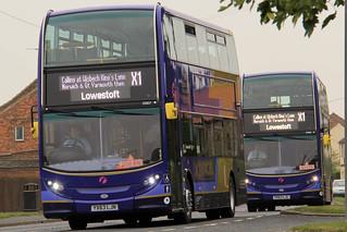 First East England (King's Lynn) 33806 & 33807 (c) Jamie Vendy