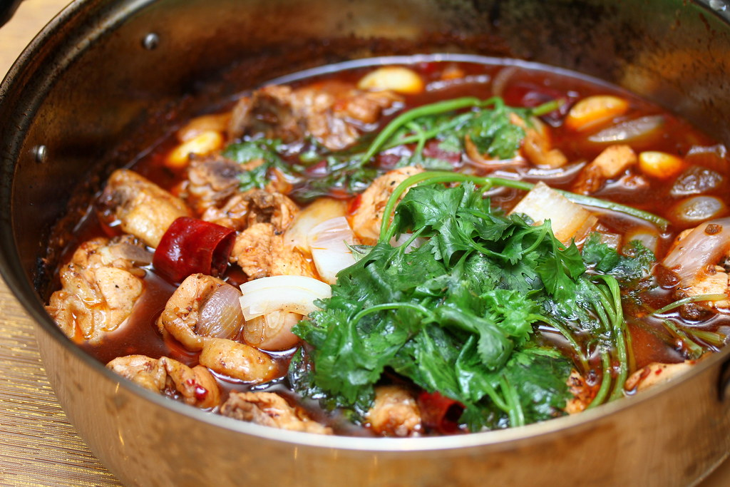 Crystal Jade Steamboat's Sauteed Chicken with Dried Chili & Onion