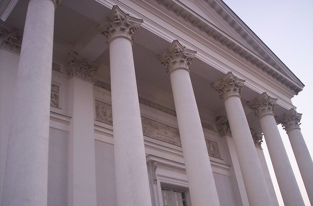 Columns of the Helsinki Cathedral