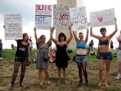 SlutWalk DC, August 13, 2011