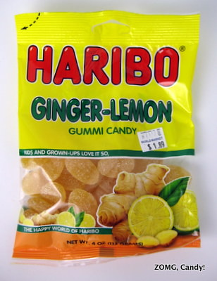 Haribo Ginger-Lemon Gummies