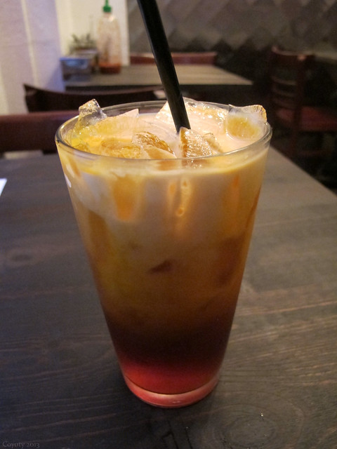 Thai spiced iced tea