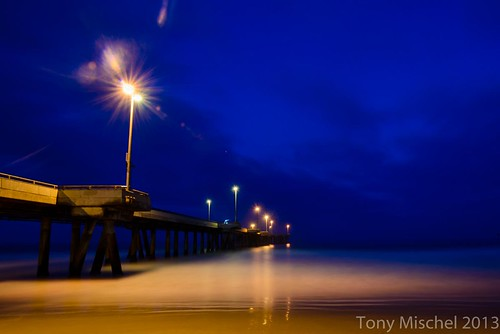 venice pier, 30 minutes before dawn
