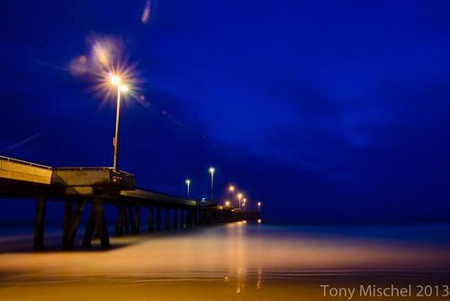 venice pier, 30 minutes before dawn