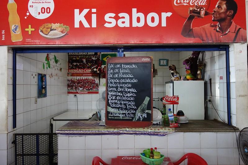 Fotografia do Mercado Central de Macapá, Amapá Brasil