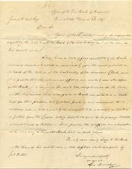Letter to Farmer's Bank of Virginia