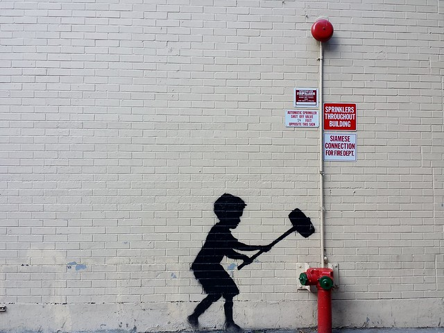 Banksy in NYC: Day 20