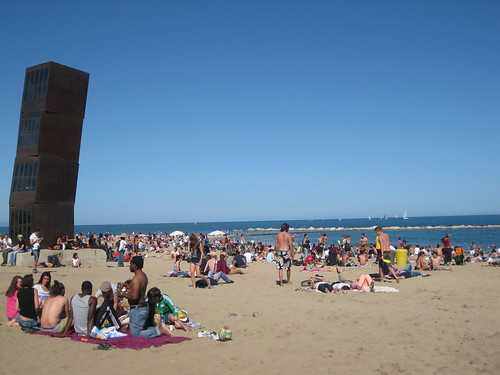Barceloneta. From Foodie Finds: Exploring Barcelona, One Bite at a Time